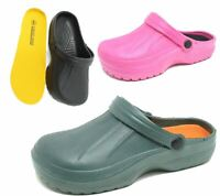 Womens Clogs Mules Slipper Nursing Garden Beach Sandals Hospital Rubber Shoes