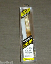 TIMEX FAST FIT 10-14MM GOLD TONE WATCH BAND TX861Y EXPANSION