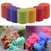 Smoke Cake Colorful Smoke Effect Show Round Bomb Stage Photography Aid Toy Bb
