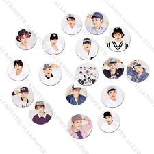 Kpop EXO Badge Baekhyun Chanyeol Sehun Brooch/Pin Gift Chest Pin Badges Souvenir