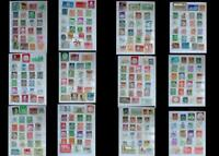 Stamp Collection From Germany Saar & Bayern, Free Shipping Worldwide