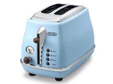 Delonghi CTO2003VAZ Icona Vintage 2 Slice Toaster - Sky Blue - RRP $149.00