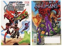 FCBD All New All Different Avengers #1 NM/MT 9.8 2015 Marvel Free Comic Book Day