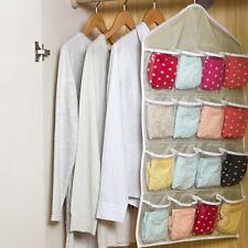 Multifunction Clear Socks Shoe Underwear Sorting Storage Bag Door Organizer