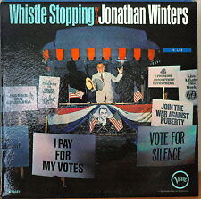 WHISTLE STOPPING WITH JONATHAN WINTERS-NM1964LP RARE! PAT McCORMICK