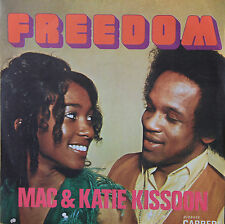 "Vinyle 45T Mac & Katie Kissoon ""Freedom"""