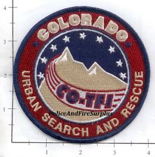 Colorado - Urban Serach And Rescue CO Fire Dept Patch - Task Force 1