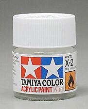 Tamiya Acrylic X-2 White Paint Jar 81502