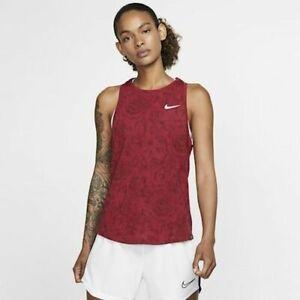 Nike England Football Tank Top Ladies Flower Print Sport Vest All Sizes RED B521
