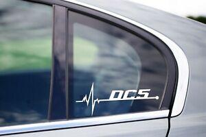 DC5 Is in my Blood Bumper Window Vinyl Decal Sticker Acura Honda Integra RSX