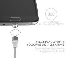 WSKEN Micro USB Magnetic 2.1A Round X-Cable For Android - Charging Only