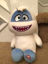 """Hallmark Bumble Abominable Snowman Plush 12"""" Sings Rudolph the Red Nose Reindeer"""