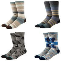 STANCE MEN'S BUTTER BLEND COLLECTION ULTRA SOFT FIBERS  ATHLETIC CREW SOCKS