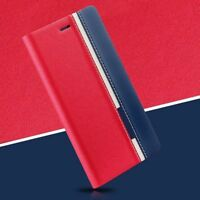 New PU Leather Case For iPhone/Samsung Luxury Flip Card Slot Wallet Cover Pouch