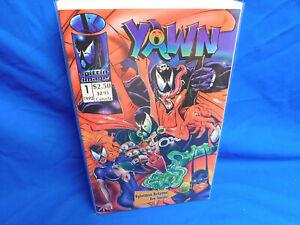 Yawn One-Shot Comic Todd McFarlane Spawn Parody Venom Batman Superman Hulk Lobo