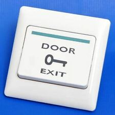 DC12V MZSEC Door Exit Button Exit Release Button for Access Control System Use