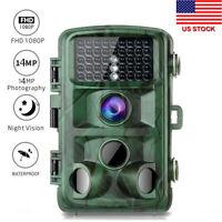 "TOGUARD 2.4"" Trail Game Camera 14MP 1080P Wildlife Hunting Cam Night Vision US"