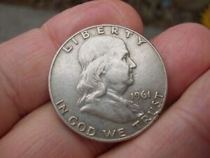 Silver Half Dollar 1961