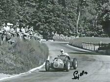 Stirling Moss 1952 HMW52 - Alta Hand Signed F1 Racing Photograph