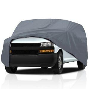 [PSD]Supreme Waterproof Car Cover for Nissan NV200 2015-2021 Mini Cargo Van 4-Dr