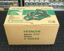 """Pialla Piallatrice elettrica HITACHI P 20SA2 planer 82mm 3 1/4""""  720W"""