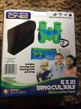 Explore One Kids Binoculars- 6 x 21 binoculars - 4 years and up Shockproof