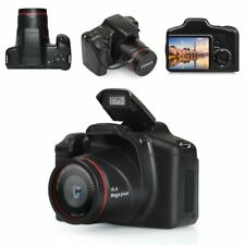 Black Digital SLR Camera 3 Inch TFT LCD Screen 16MP HD 1080P 16XZoom Anti-shake