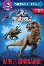 Danger: Dinosaurs! (Jurassic World) (Step into Reading) by Carbone, Courtney, Go