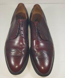 Allen Edmonds Size 10.5 B, Dark Brown 36368
