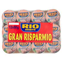 12x 80g Rio Mare Tonno olio di oliva Mega pack (12x80g) Thunfisch in Olivenöl