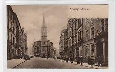 KING STREET, STIRLING: Stirlingshire postcard (C26105)