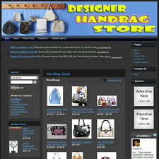 HANDBAG STORE - Complete, Ready Made Affiliate Website - Amazon+Google+Dropship!