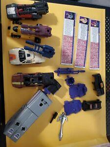 MENASOR Transformers G1 Stunticons Near Complete Hasbro Original Vintage Takara