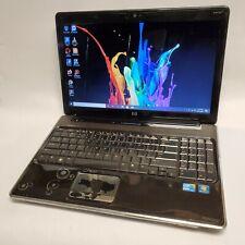 HP Pavilion dv6 Laptop15.6'' i3 2.13GHz 6GB RAM 100GB HDD Bad Batt Win10 No AC
