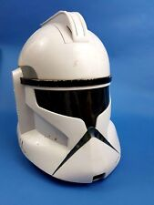 STAR WARS CAPTAIN REX CLONE TROOPER HELMET VOICE CHANGER MASK PERFECT CONDITION