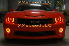 ORACLE Chevrolet Camaro 10-13 AMBER LED Head + Foglight Halo Angel Eyes Kit