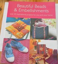 BEADING BOOK - Beautiful Beads & Embellishments, 20 projects over 64 pages  #174