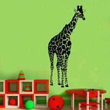 Giant Giraffe Decal Vinyl Wall Sticker Art Kids Room Décor Girls Boys