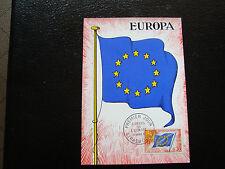 FRANCE - carte 1965 - (conseil de l europe) yt service n° 30 cy2)