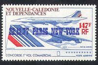 New Caledonia 1977 Concorde/Planes/Aircraft/Aviation/Flight 1v o/p (n39804)