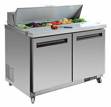 Polar Saladette mit Gn-lagerraum 24m Vollgarantie Kühltisch Salatbar
