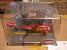 Disney Pixar Cars 2 Disney Store CHASE HELICOPTER  W/ display