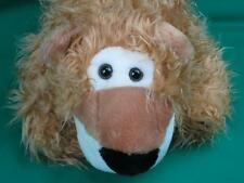 VINTAGE 1988 CHRISHA SHAGGY BROWN LION HEAD COSTUME HALLOWEEN HAT SOFT PLUSH