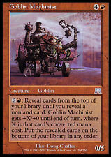 Goblin Machinist X4 EX/NM Onslaught MTG Magic Cards Red Uncommon