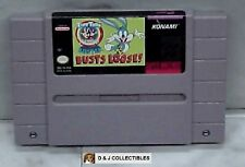 SUPER NINTENDO  SUPER TINY TOON ADVENTURES BUSTER BUSTS LOOSE CART ONLY