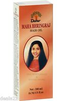 200ml Dabur Mahabhringraj Hair Oil for Hair Care Hair Loss USA Seller