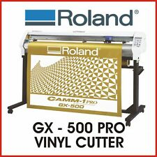 ROLAND VINYL CUTTER - ROLAND CAMM 1 PRO GX 500 - PROTECH CNC