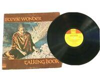 Stevie Wonder Talking Book 1972 Vintage Vinyl LP 33 RPM  T-319L VG+