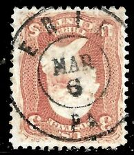 "Sc #65 ""Erie PA MAR 6"" SON Town Date Cancel 3 Cent 1861 Civil War US 9734"