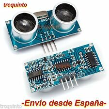 Sensor ultrasonidos medidor distancia HC-SR04 arduino robótica Raspberry